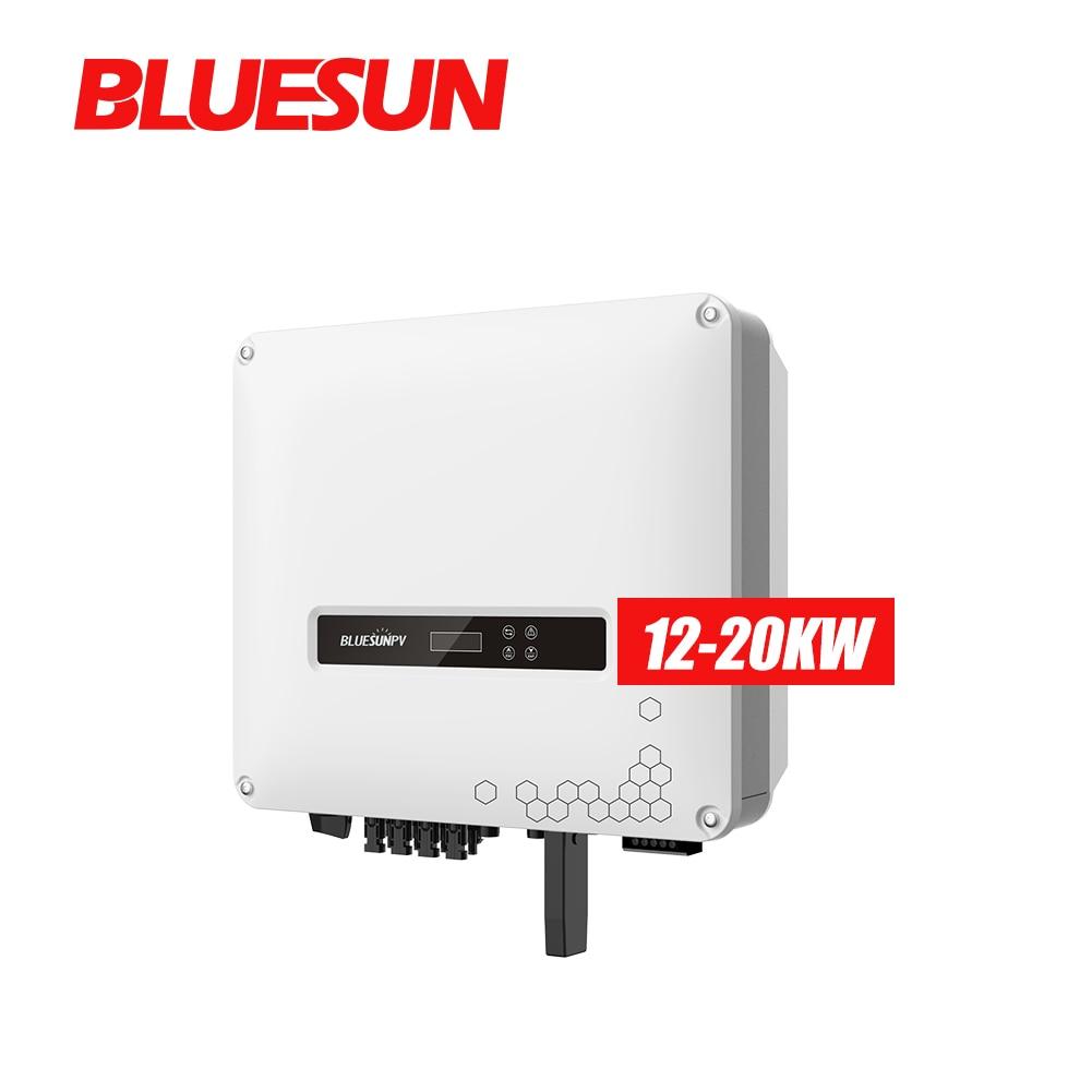 Bluesun أفضل بيع 5kw 6kw 8kw عاكس شمسي هجين 10kw الشمسية العاكس 5kw شاحن ومحول يعمل بالطاقة الشمسية