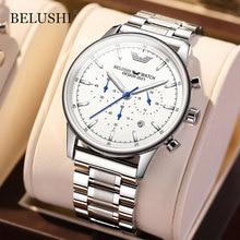 Belushi Men's watches Modern Man Watch 2021 Business Casual Watch for Men Chronograph Sport Waterpro