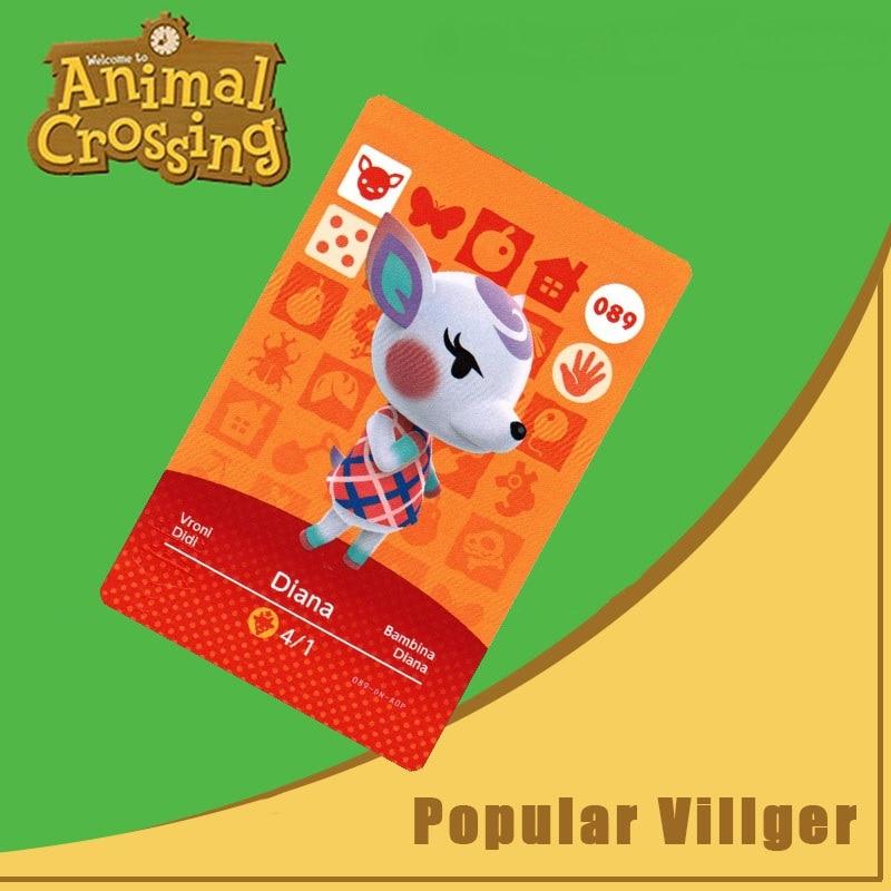 089 Diana Amiibo Kaart Animal Crossing Serie Animal Crossing New Horizons Amiibo Kaart Werken Voor Ns Schakelaar Games Nfc Kaart