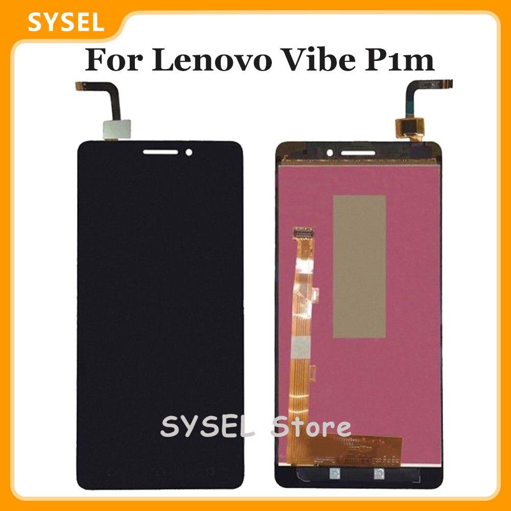 Für Lenovo Vibe P1m P1ma40 P1mc50 LCD DIsplay Touchscreen Digitizer Telefon Montage Bildschirm
