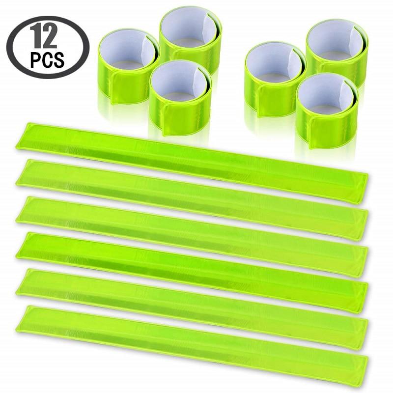 12 шт., светоотражающие ленты с высокой видимостью