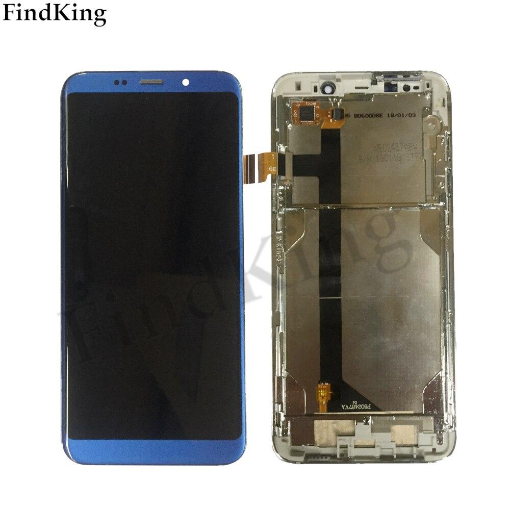 جديد اختبار شاشة الكريستال السائل ل Bluboo S8 زائد S8 + شاشة الكريستال السائل مع الإطار مجموعة المحولات الرقمية لشاشة تعمل بلمس استبدال أدوات