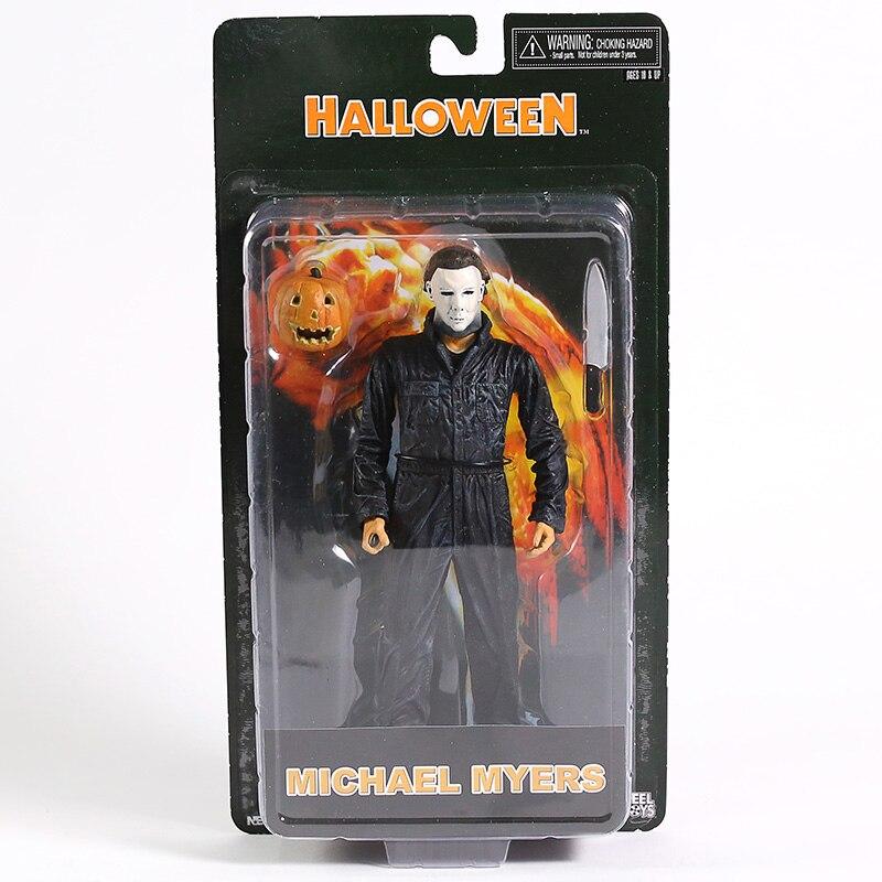 NECA-figuras de acción de PVC, Michael Myers, Halloween, juguete de modelos coleccionables