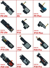 Haut-parleur haut-parleur pour Huawei P20 Pro P30 P10 P9 Lite Plus P8 P8 Lite haut-parleur sonore sonnerie Flex pièces de rechange