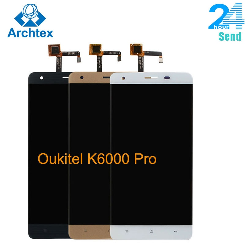 For Original Oukitel K6000 Pro LCD in Mobile phone LCD Display+Touch Screen Digitizer Assembly lcds