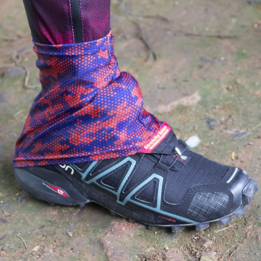 Купить с кэшбэком Speedsheer Travel Leg Warmers Outdoor Trail Running Leg Gaiter Portable Ultralight  Breathable For Trail Running Camping
