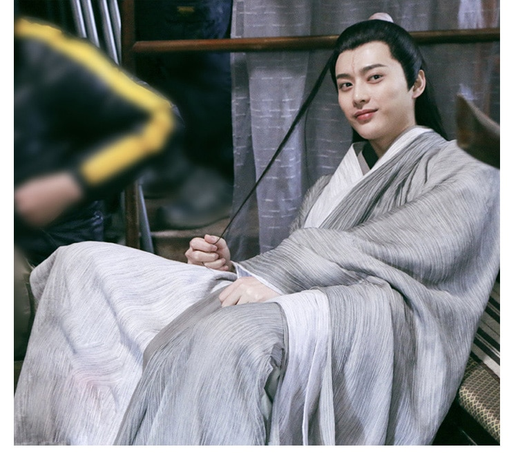 Male Prince Scholar Costume Cosplay Stage Performance Photography Sword Man Hanfu for Chinese Drama Love and Redemption