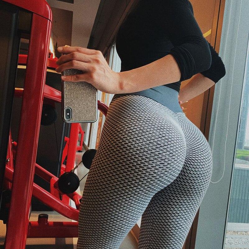 Mallas de leopardo para mujer pantalones de Yoga sin costuras de cintura...