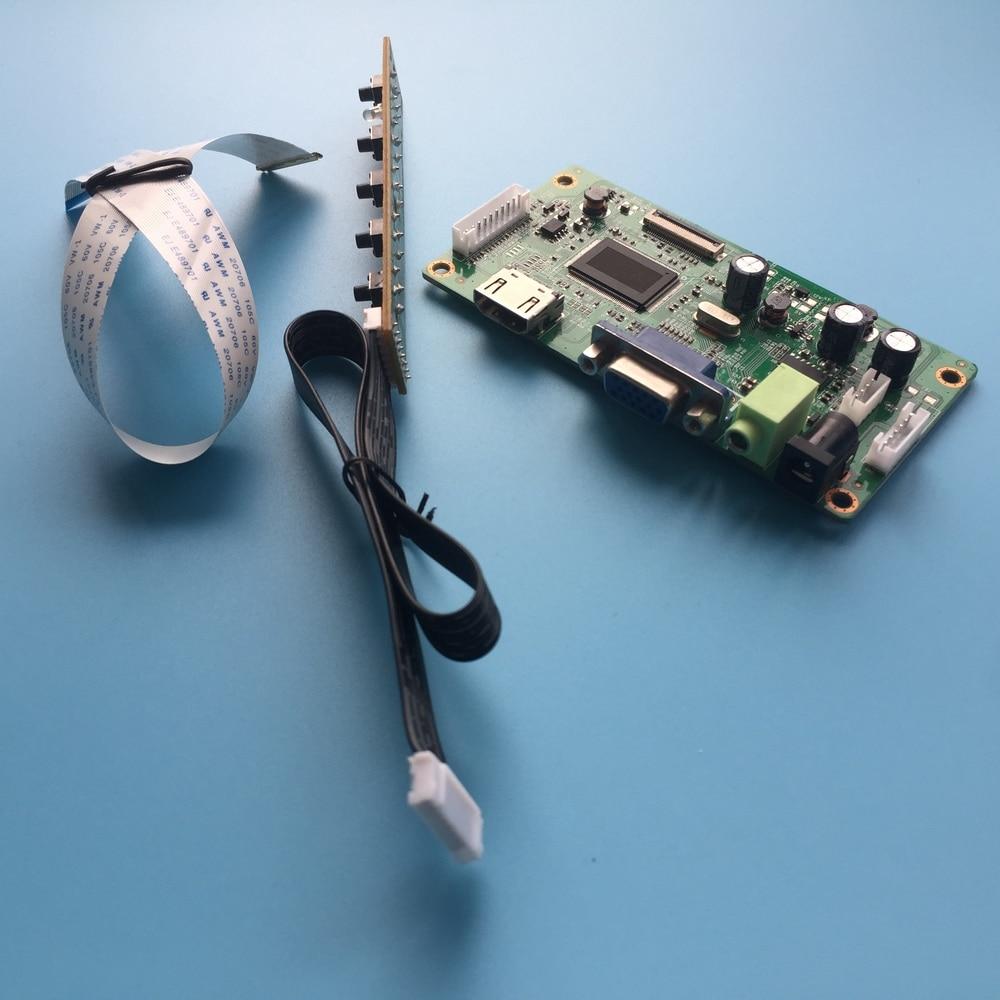 "Para b140han03.8 kit placa de controlador vga monitor lcd driver edp led 30pin 1920x1080 tela 14 ""display hdmi diy"
