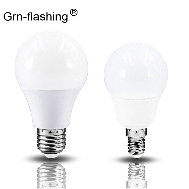 Bombillas LED E27/E14Energy-saving SMD2835, luz de burbuja de 3W, 9W, 20W, luces de bola, iluminación interior, decoración para dormitorio y sala de estar