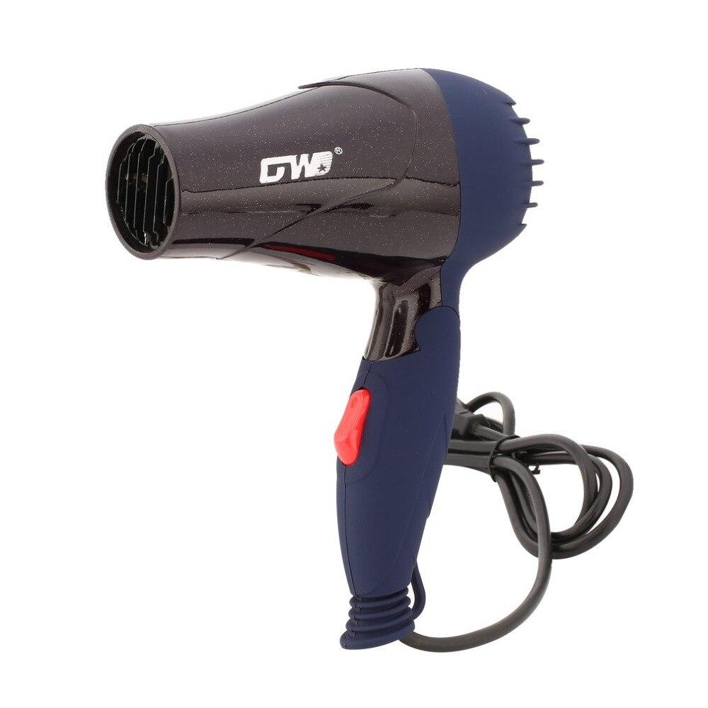 220V 1500W ue podłącz przenośny Mini włosy dmuchawy zbieranie dyszy składany Traveller gospodarstwa domowego elektryczna suszarka do włosów podróży