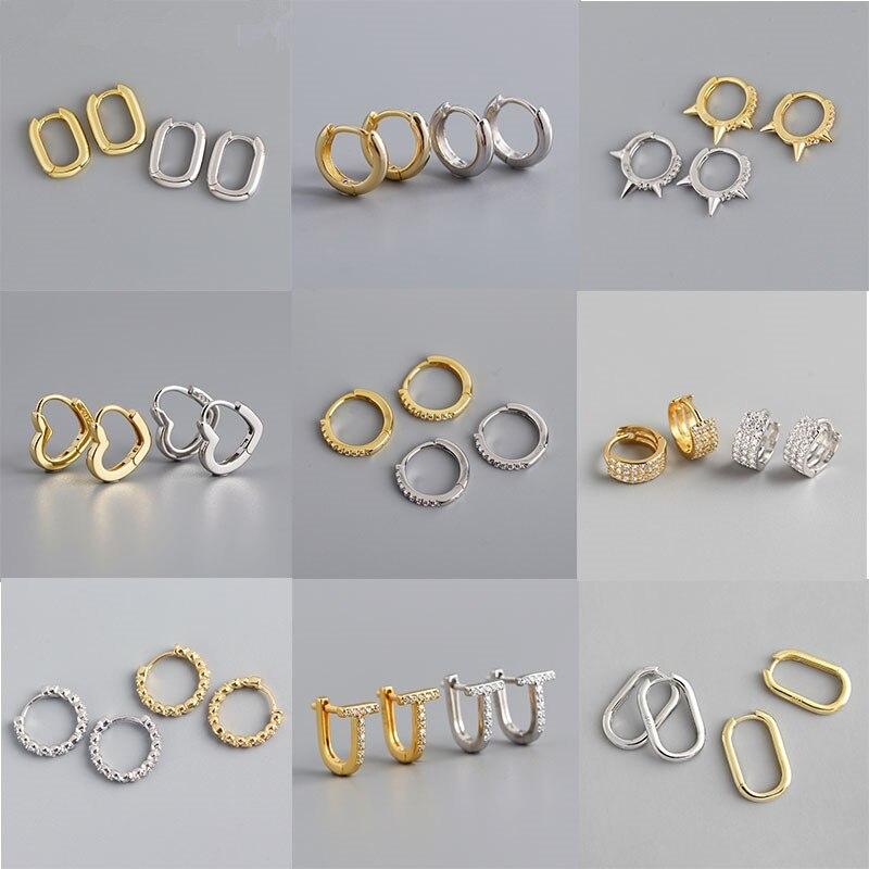 Серьги-кольца-женские-Геометрические-из-серебра-925-пробы-в-стиле-панк-хип-хоп