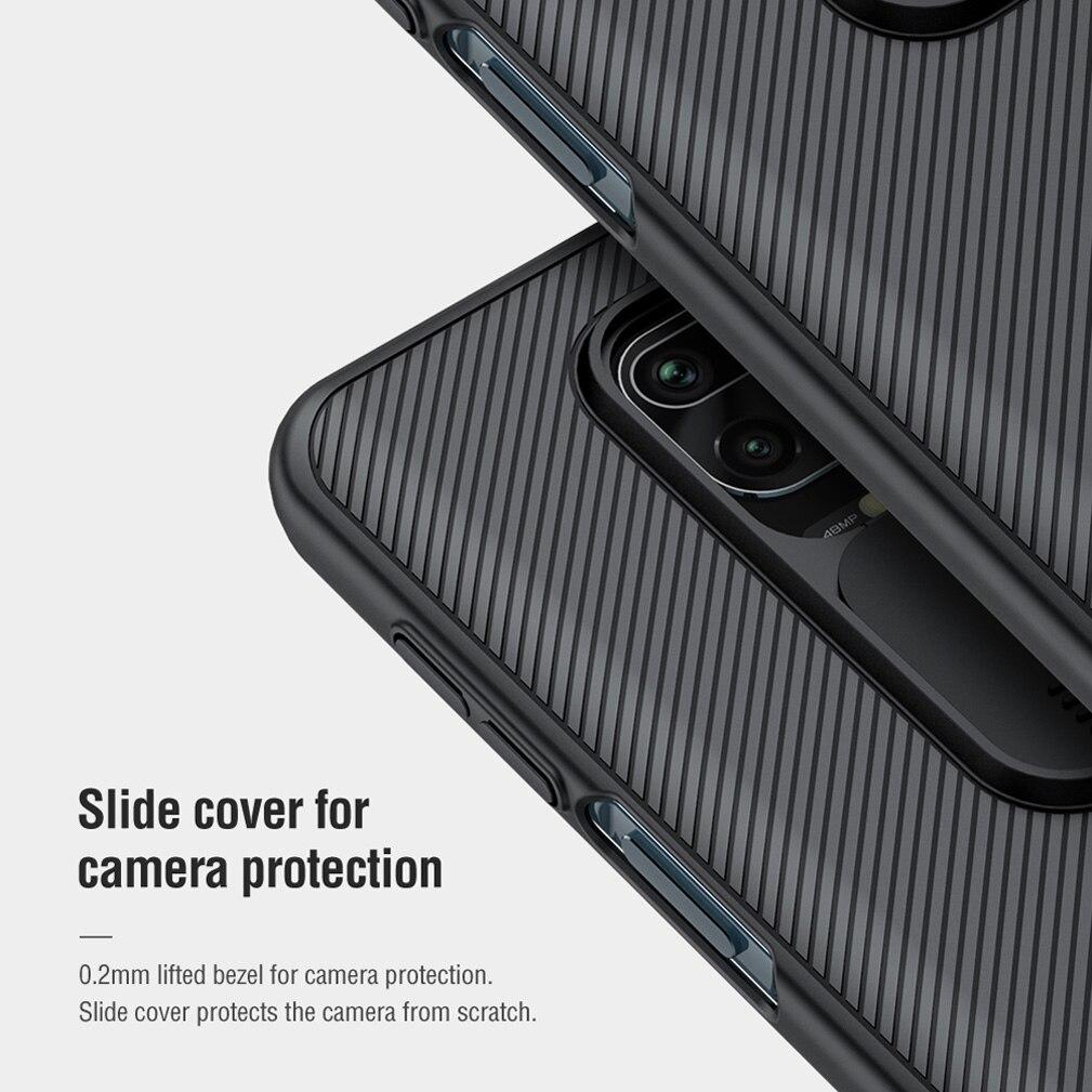 For Xiaomi Redmi Note 9/9S case NILLKIN CamShield Case Slide cover For camera protection case For Redmi Note 9 Pro/9 Pro Max