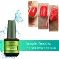 15ml uv led gel nail polish burst magic remover gel remover off to polish nail remove solution to varnish permanent gel soa s4k1