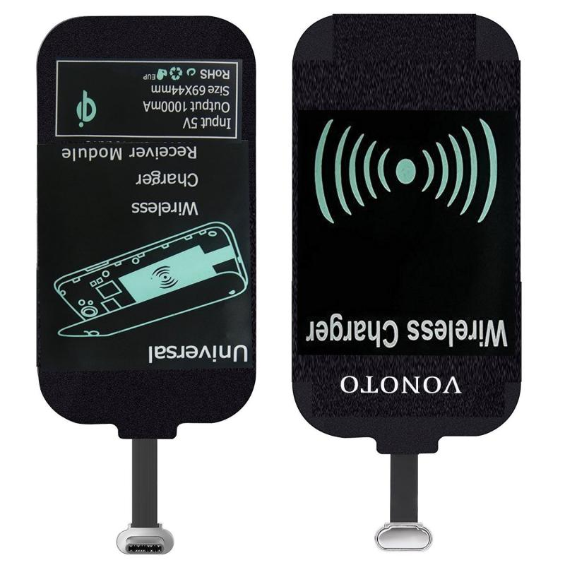 1 Pc Universal QI Wireless Charging Cradle Receiver Module For IPhone For Type-C Micro USB Cellphone