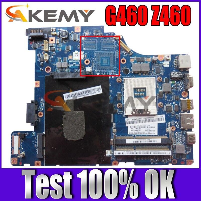 Akemy لينوفو G460 Z460 اللوحة المحمول NIWE1 LA-5751P اللوحة الرئيسية HM55 UMA DDR3 وحدة المعالجة المركزية الحرة