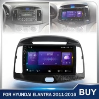 128g car radio multimedia player stereo for hyundai elantra 2011 2016 car gps navigation touch screen head unit android 9 inch