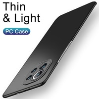 Ультратонкий чехол для телефона из поликарбоната для Xiaomi Mi 11 10 9 8 Pro Lite Se Матовый Твердый Цветной задний Жесткий Чехол для Mi A1 A2 A3 Lite Poco F3 X3 M3