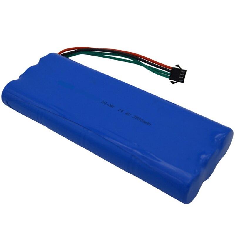 14.4 فولت قابلة للشحن ni-mh Sc بطارية حزمة مكنسة كهربائية 3500Mah ل Ecovacs Deebot D54 D56 D58 Deepoo 540 550 560 570 580 543