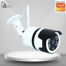 1080P Wifi TUYA PTZ Camera Wireless Auto-Tracking Waterproof Camera Two Way Audio Outdoor Home HD CC