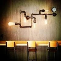 Applique murale industrielle nordique moderne avec telecommande  luminaire decoratif dinterieur  ideal pour un Foyer  un Bar  une salle a manger ou un cafe