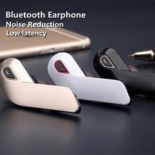 TWS Business headset Wireless Bluetooth Earphone Noise Cancelling Headphone Handsfree Stereo Earbud
