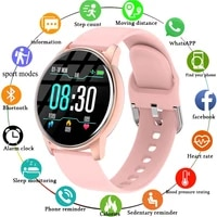 women smart watch real time weather forecast activity tracker heart rate monitor sports ladies smart watch men for android ios