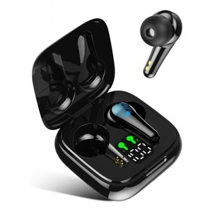 Мини-наушники-вкладыши TWS Bluetooth 5,2 наушники беспроводные наушники 9D Hi-Fi стерео спортивная водонепроницаемая гарнитура с микрофоном для Xiaomi ...