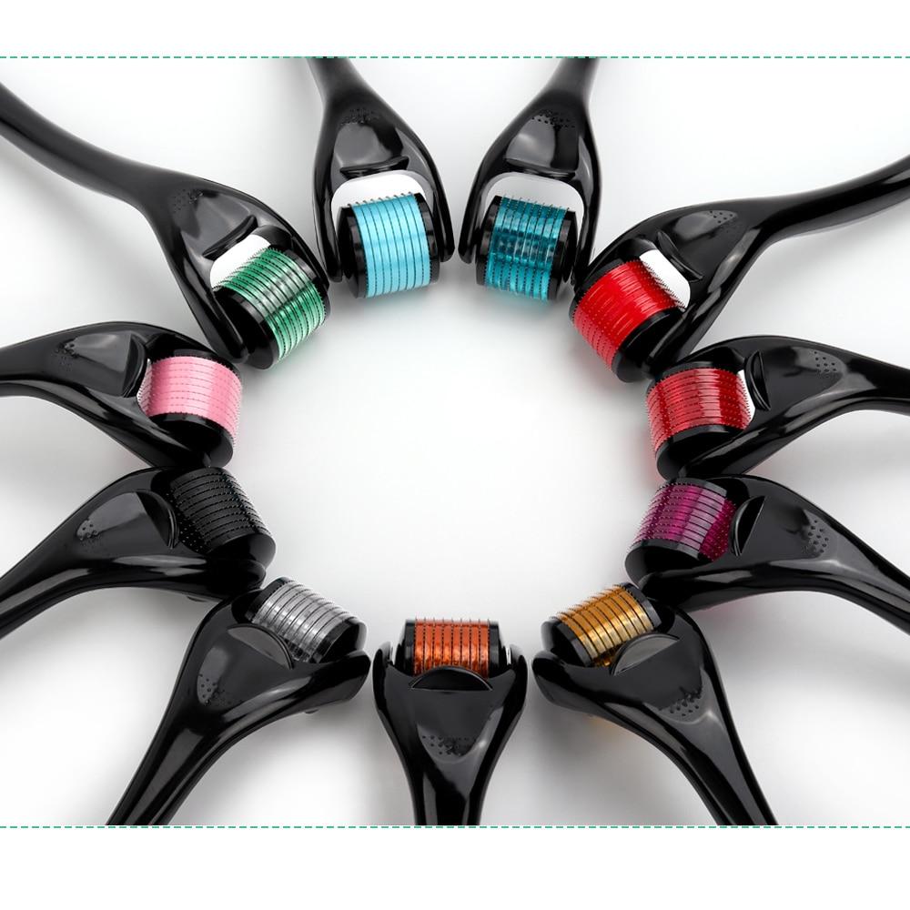 DRS 540 Derma Roller 0.2/0.25/0.3mm Length Needles Titanium Mezoroller Micro-needling Rollers For Skin Care Beauty Care Tools