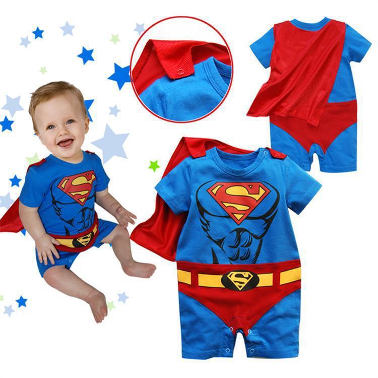 Disfraz de superhéroe Cosplay para niños pequeños, Disfraces de Halloween para niños, niñas, Bruce Lee, Superman, Batman, traje de bebé, regalo para niños