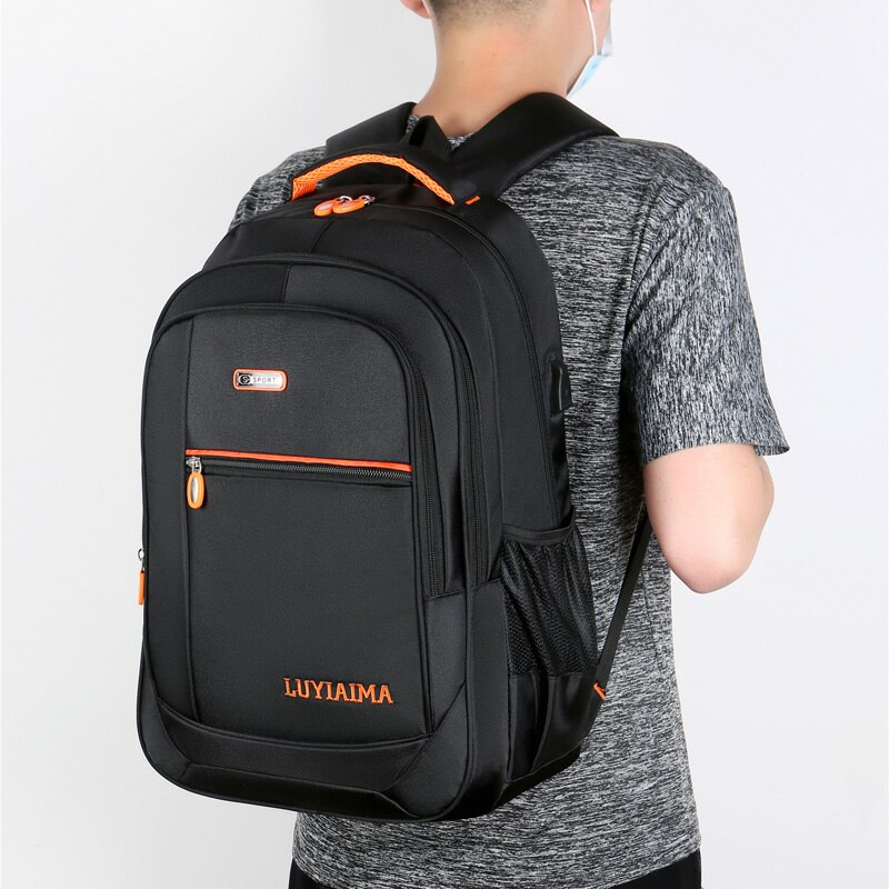 New Casual Male Backpacks School Bag For Teenagers High Quality  Men Notebook Computer Bags Large Capacity Travel Backpacks