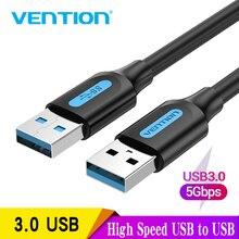 Intervento USB Maschio a Maschio Cavo di Estensione 2.0 3.0 Ad Alta Velocità di Trasferimento Dati USB Cavo di Prolunga per Radiatore Auto Altoparlante HD Webcom
