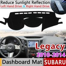 for Subaru Legacy 2010 2011 2012 2013 2014 Anti-Slip Mat Dashboard Cover Carpet Sunshade Dashmat Carpet Accessories WRX STI B4
