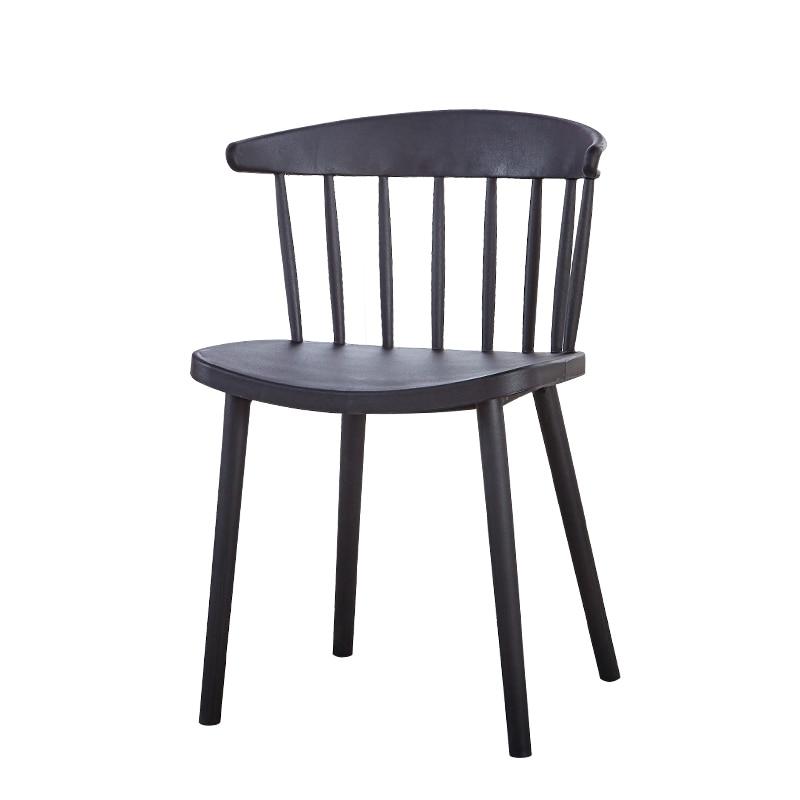 بسيطة الحديثة الشمال وندسور كرسي كرسي من البلاستيك الطعام كرسي العودة إلى المنزل الكبار طالب الترفيه صافي كرسي مكتب أحمر