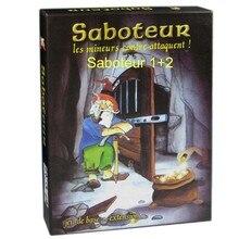 Jeu De société nain mineur Saboteur Jeu De société 1 + 2 Version/Saboteur1 Version Jeu De société drôle avec la Description anglaise