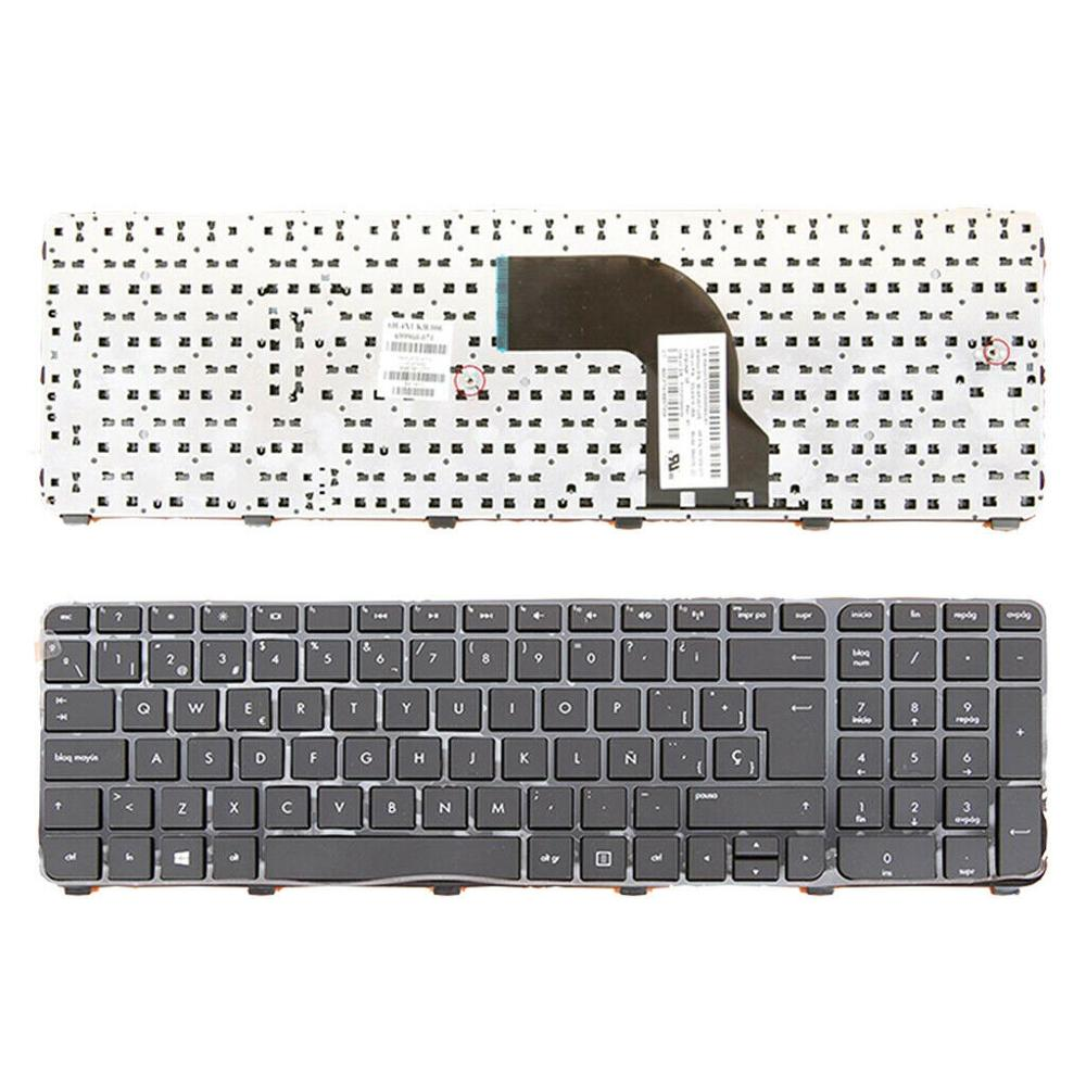 Espanhol computador portátil teclado para hp pavilion DV7-7000 DV7-7100 DV7-7200 sp