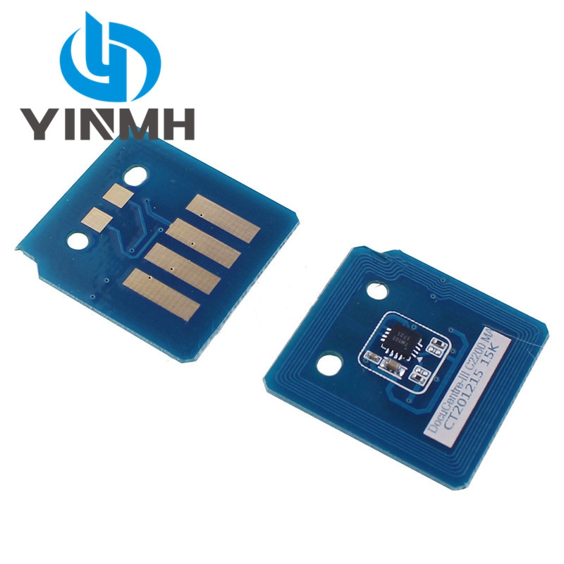 10 pces toner cartucho chip para xerox workcentre 7120 7125 7220 7225 unidade de imagem redefinir chip013r00657 013r00660 013r00659 013r00658