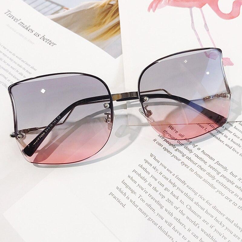 Женские солнцезащитные очки «кошачий глаз», в форме банта