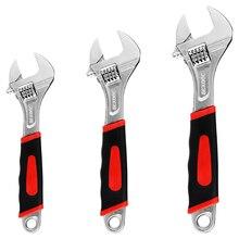 Bouche mobile multi-fonction clé à molette clé en acier inoxydable clé universelle Mini écrou clé main réparation outils Maximum