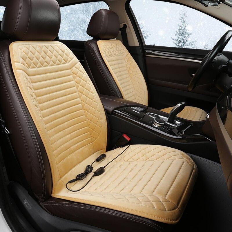 Funda de asiento de coche climatizada de 12V, funda de asiento de coche, accesorios de coche para Ford Streetka FIESTA Mk6 Mk7 B-MAX TOURNEO COURIER ECOSPORT