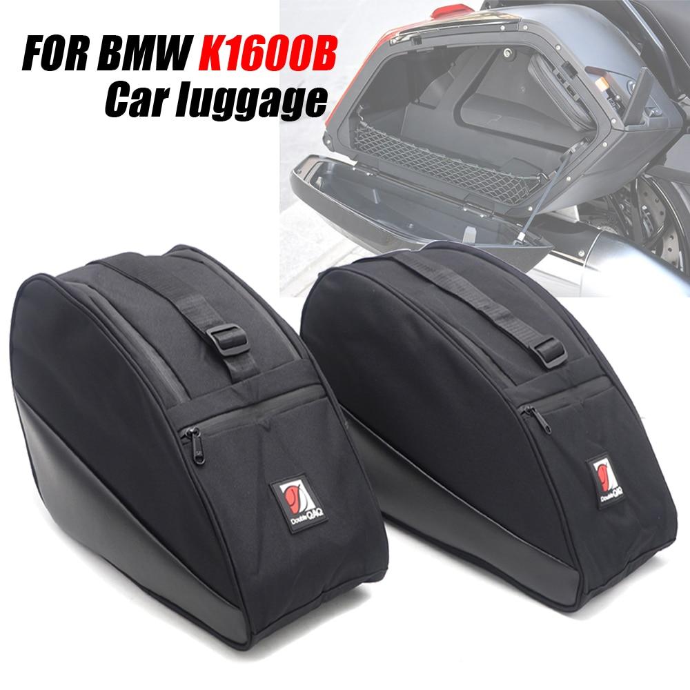 Accesorios de motocicleta para BMW K1600B bolsa de almacenamiento de equipaje de coche K 1600 B caja lateral bolsa interior buje K 1600B