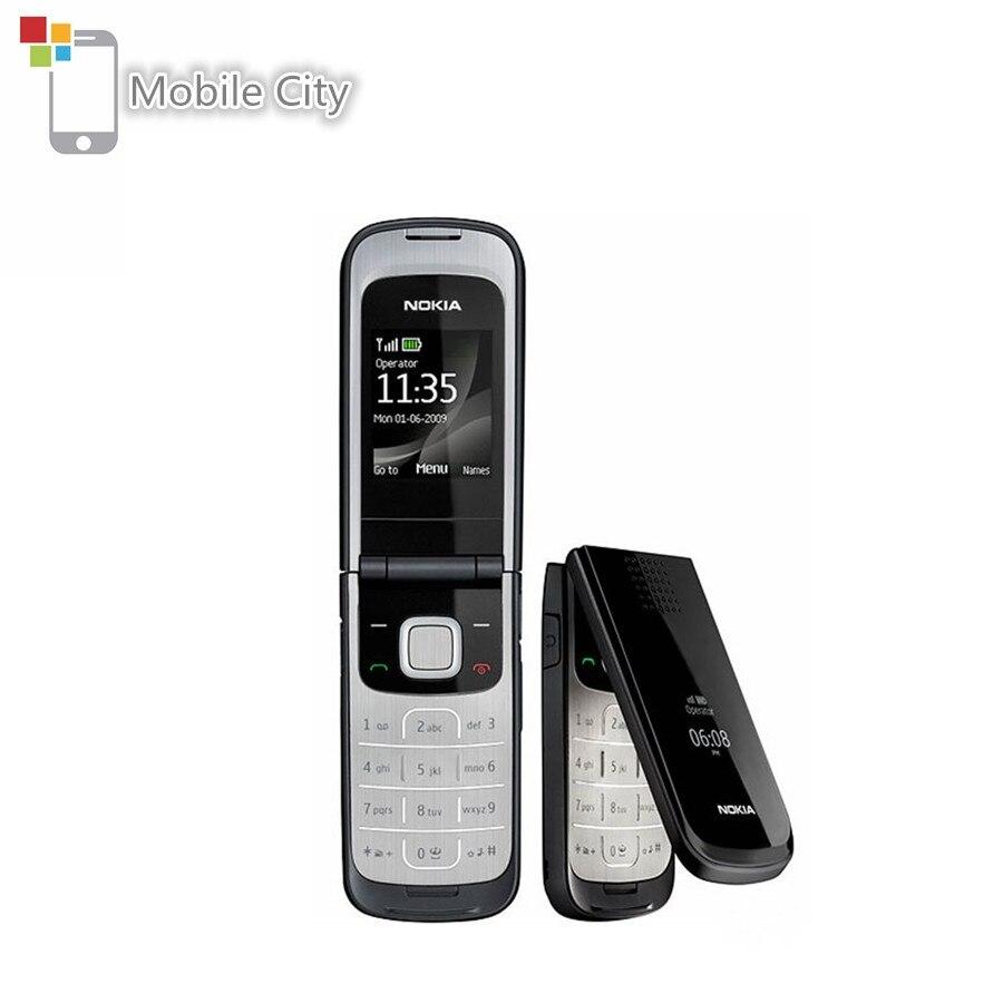 Перейти на Алиэкспресс и купить Б/у Nokia 2720 Fold сотовый телефон 2G Поддержка русский и арабская клавиатура разблокирована отремонтированный мобильный телефон