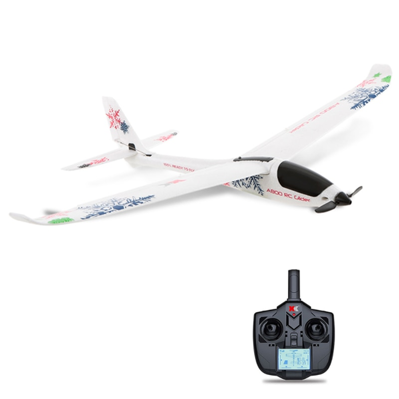 2.4G Glider Airplane RC Plane Drone Frsky 200m Detachable Wing Structure Reinforced Concrete Aircraf