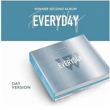 [MYKPOP]100% OFFICIAL ORIGINAL -  WINNER SECOND ALBUM: EVERYD4Y, Album CD - SA19080302, DAY Ver