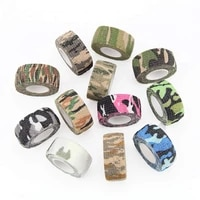 1 piece elastic bandage tapes athletic tape sports recovery strapping gym waterproof muscle relief ankle camouflage tapes