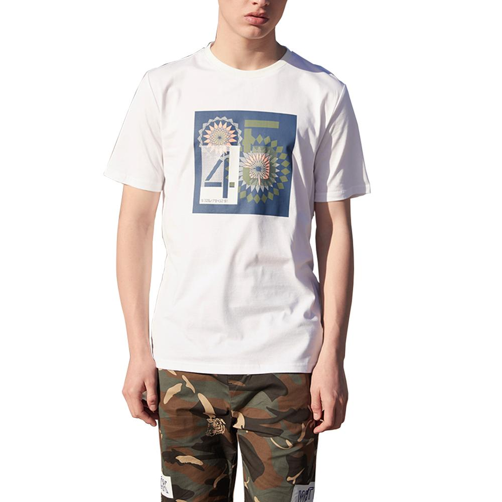2020 verano Camiseta Hombre moda estampado gráfico blanco Eboy Hip Hop Retro Vintage divertido Casual algodón marcas Tops S-XL de gran tamaño