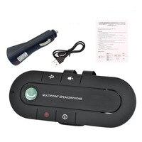 Многоточечная Громкая связь 4,1 + EDR, Беспроводная Bluetooth-гарнитура в автомобиль, MP3-плеер для IPhone, Android, Прямая поставка