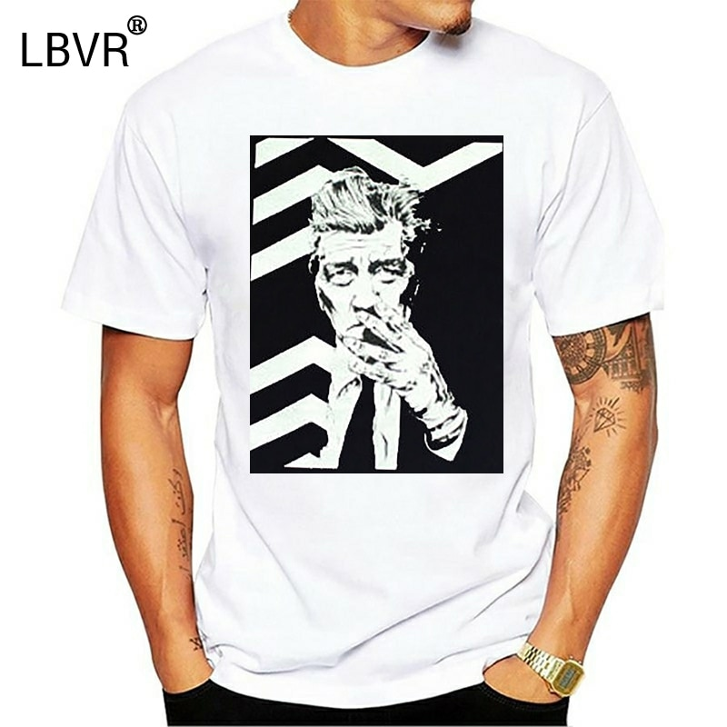 Camiseta de diseño de David Lynch Twin Peaks camiseta de terciopelo azul Camiseta estilo urbano