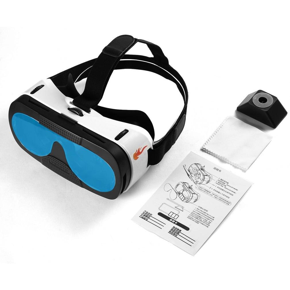 Lentes de vidrio Blu-ray, gafas 3D VR, auriculares de realidad Virtual, juego de película Anti-ultravioleta, antimareo, mejor térmico