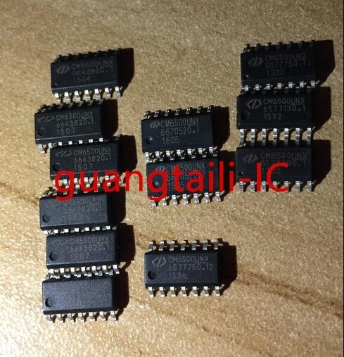 10PCS CM6500UNX CM6500 CM6500U SOP-14 Power management chip New imported original parts